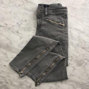 Adriano Goldschmied The Zip skinny zipper jean